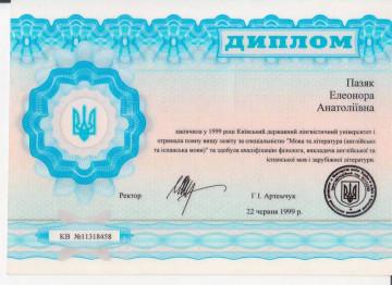 Элеонора Пазяк